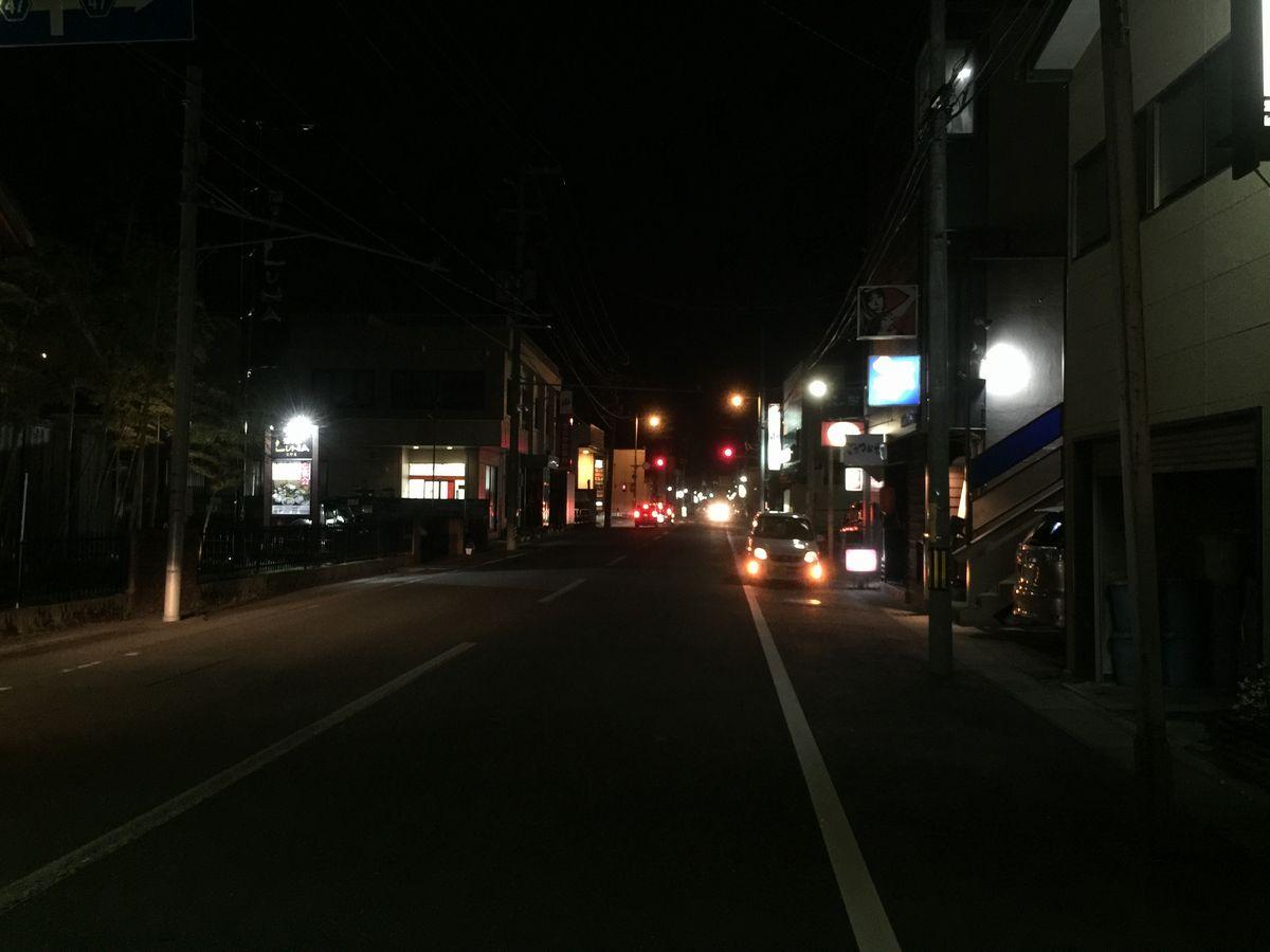 鶴岡市の昭和通り