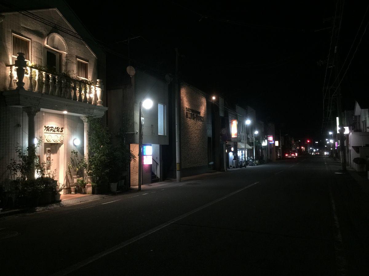 鶴岡市の昭和通り2