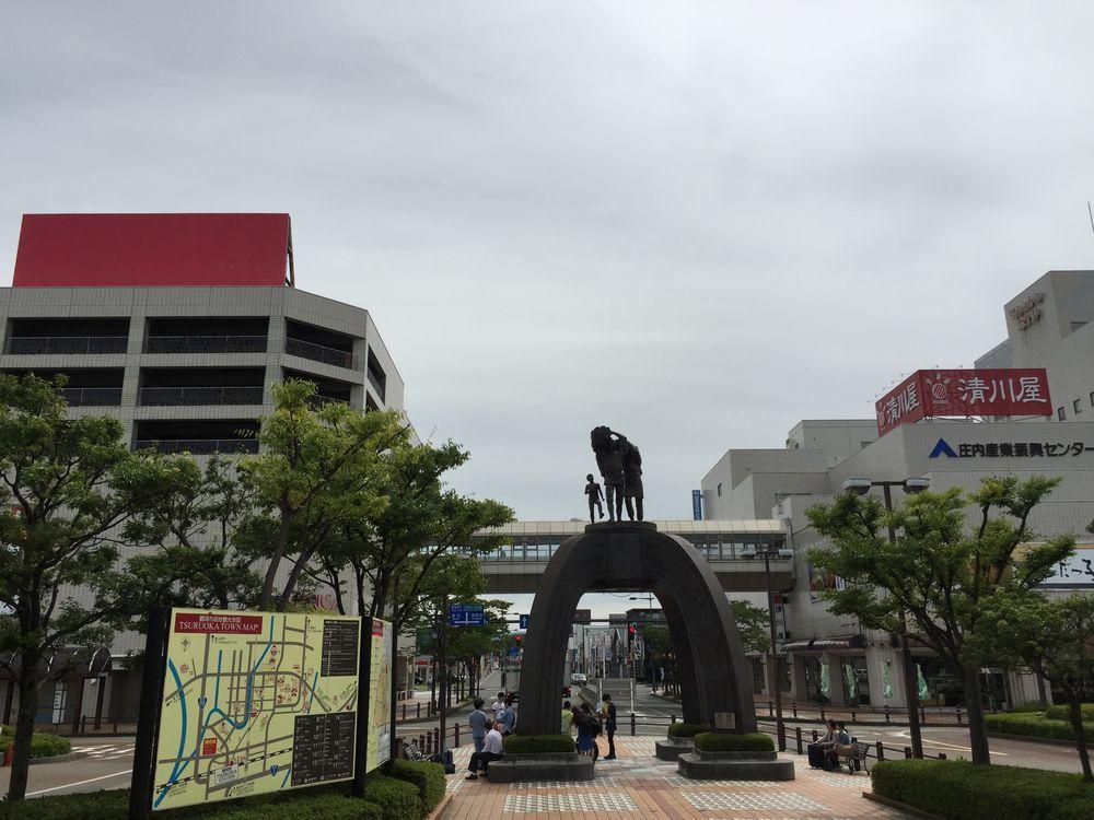 鶴岡駅駅前広場