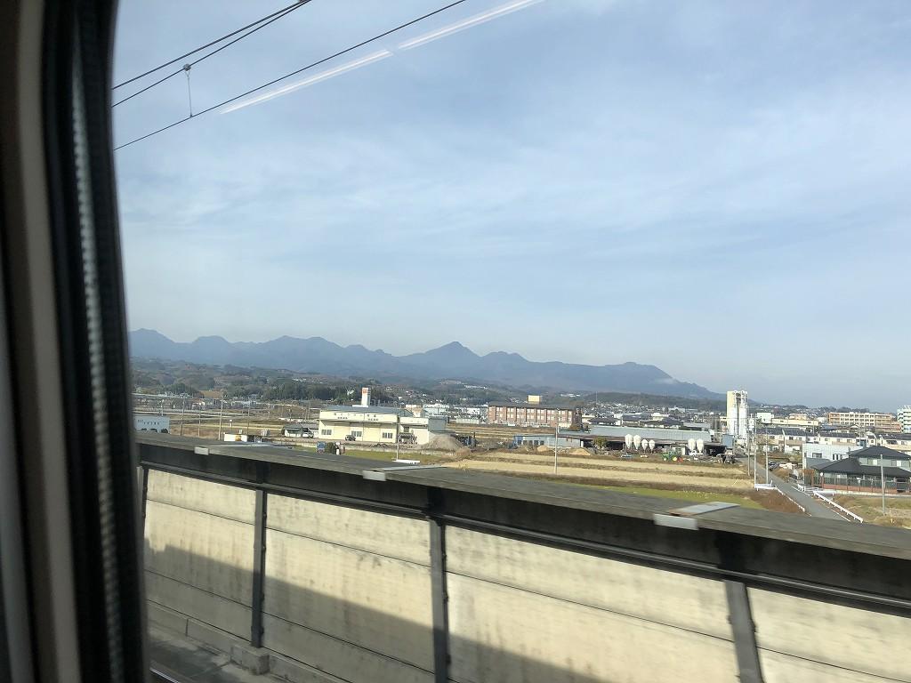 箕郷町から榛名山