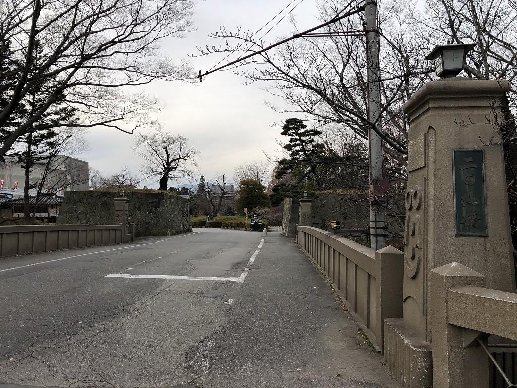 上田城の二の丸橋