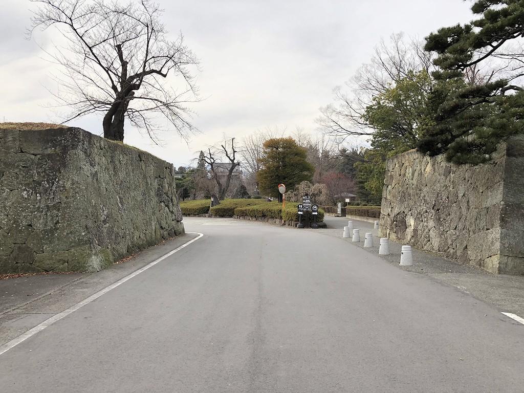 上田城の二の丸東虎口