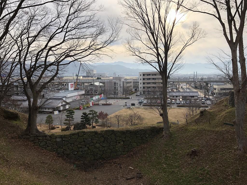 上田城の本丸東虎口の櫓門3