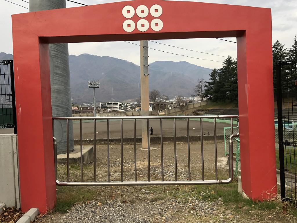 上田城の百間堀1