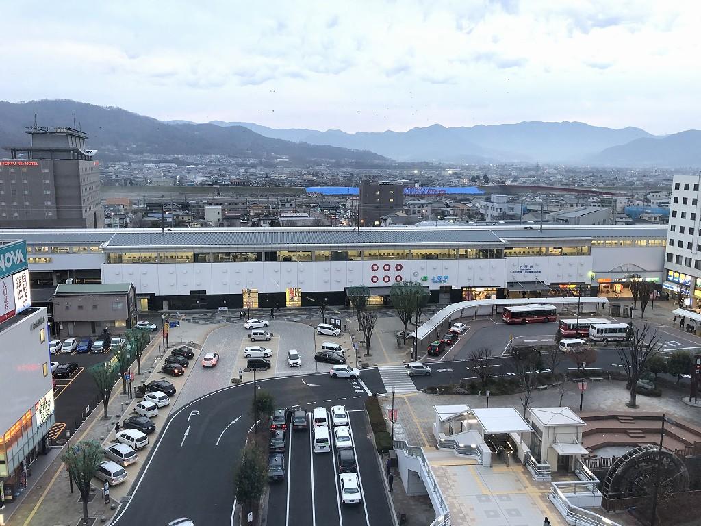 相鉄フレッサイン長野上田駅前から上田駅