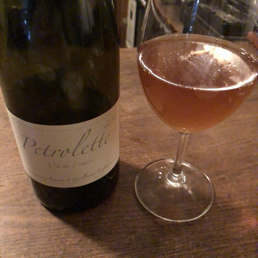 上田の「Fika」のオレンジワイン2