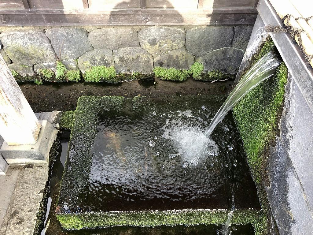 上田市の柳町の保命水2