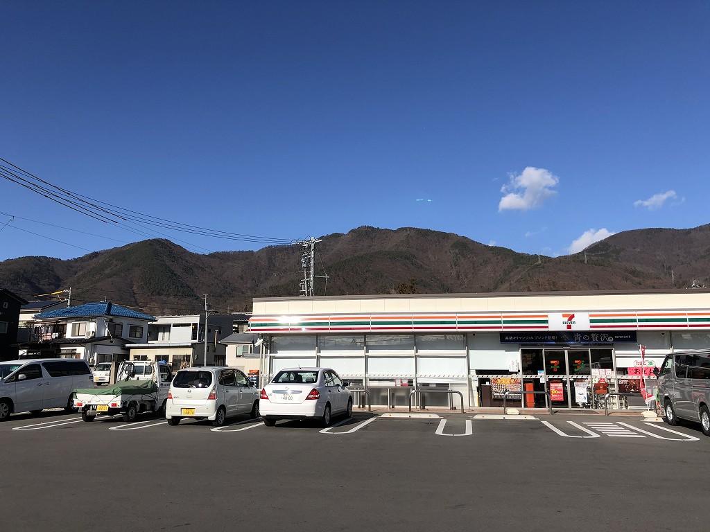 上田市のセブンイレブン