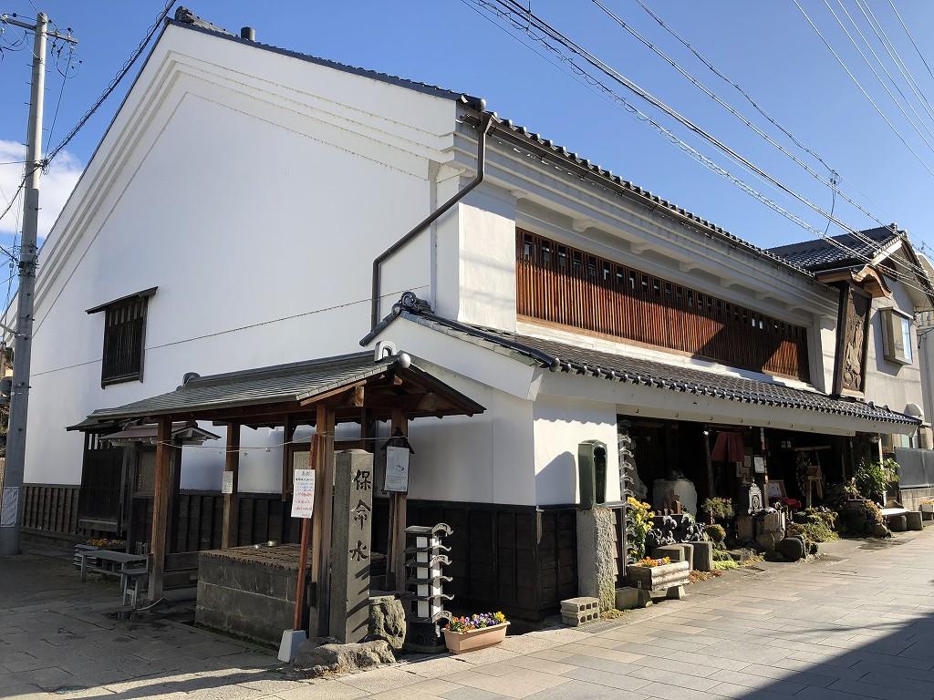 上田のそば屋「おお西」1