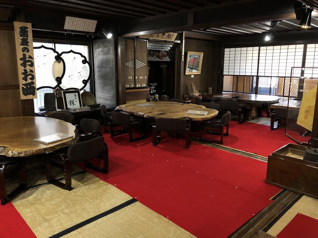 上田のそば屋「おお西」2