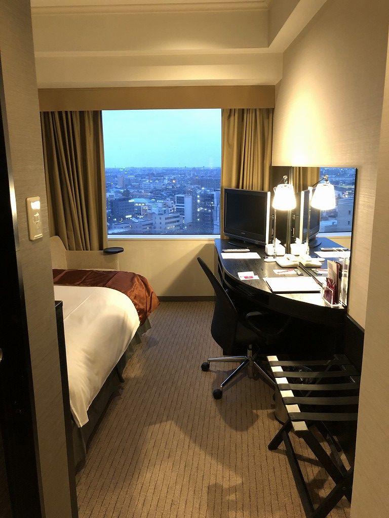 ANAクラウンプラザホテル金沢のシングルルーム1
