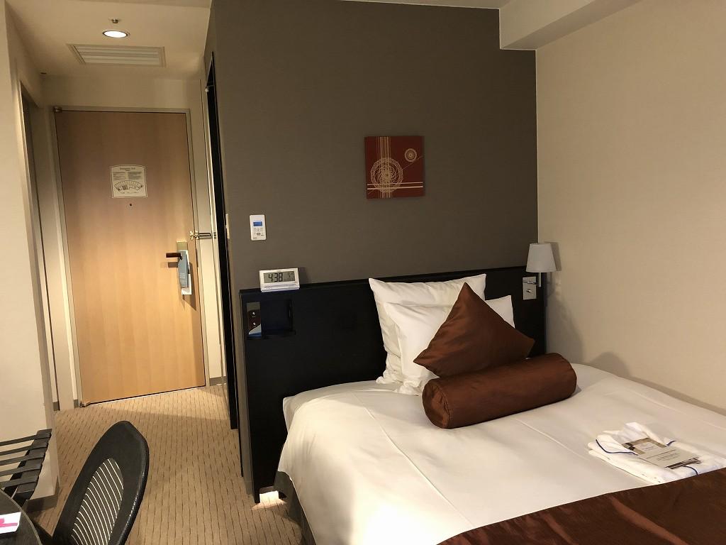ANAクラウンプラザホテル金沢のシングルルーム2