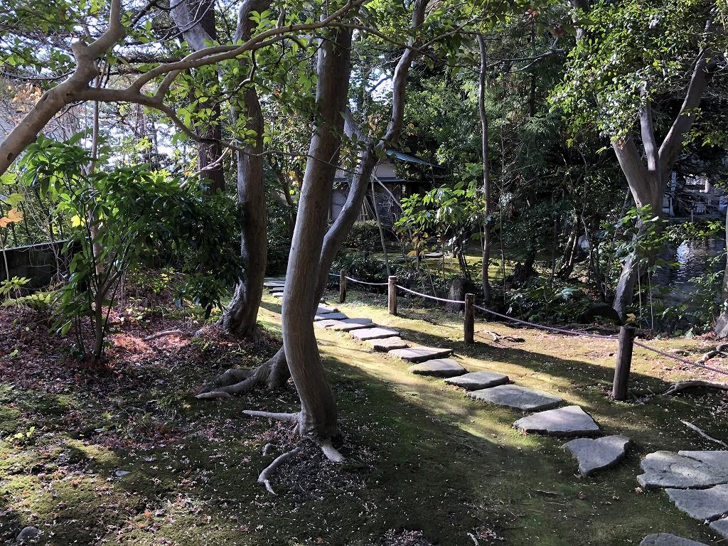 鈴木大拙館の散策路2