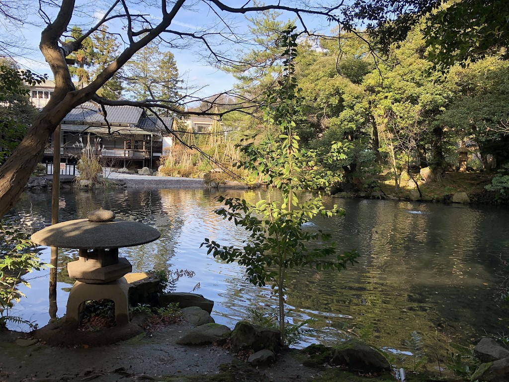 松風閣庭園1