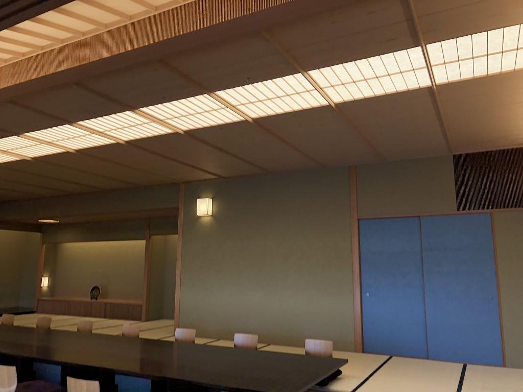 谷口吉郎・吉生記念 金沢建築館の迎賓館赤坂離宮和風別館「游心亭」の主和室4