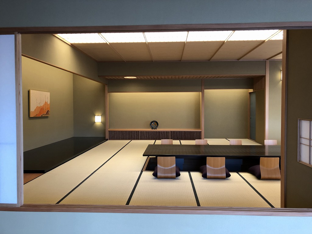 谷口吉郎・吉生記念 金沢建築館の迎賓館赤坂離宮和風別館「游心亭」の主和室2