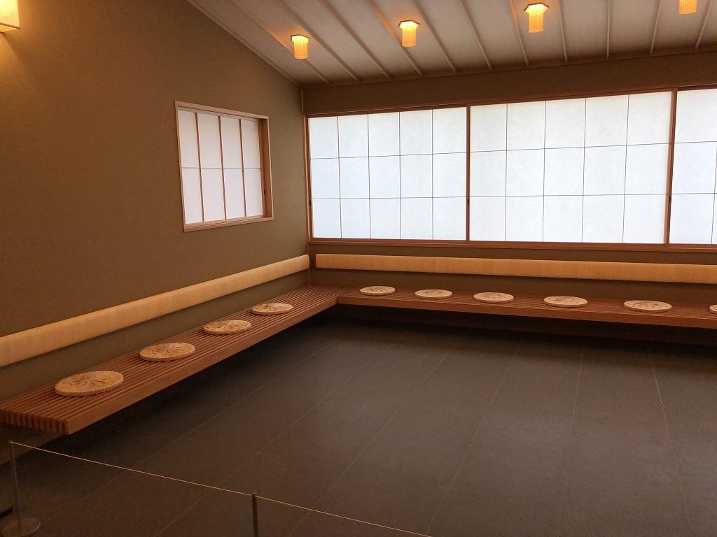 谷口吉郎・吉生記念 金沢建築館の迎賓館赤坂離宮和風別館「游心亭」の茶室2