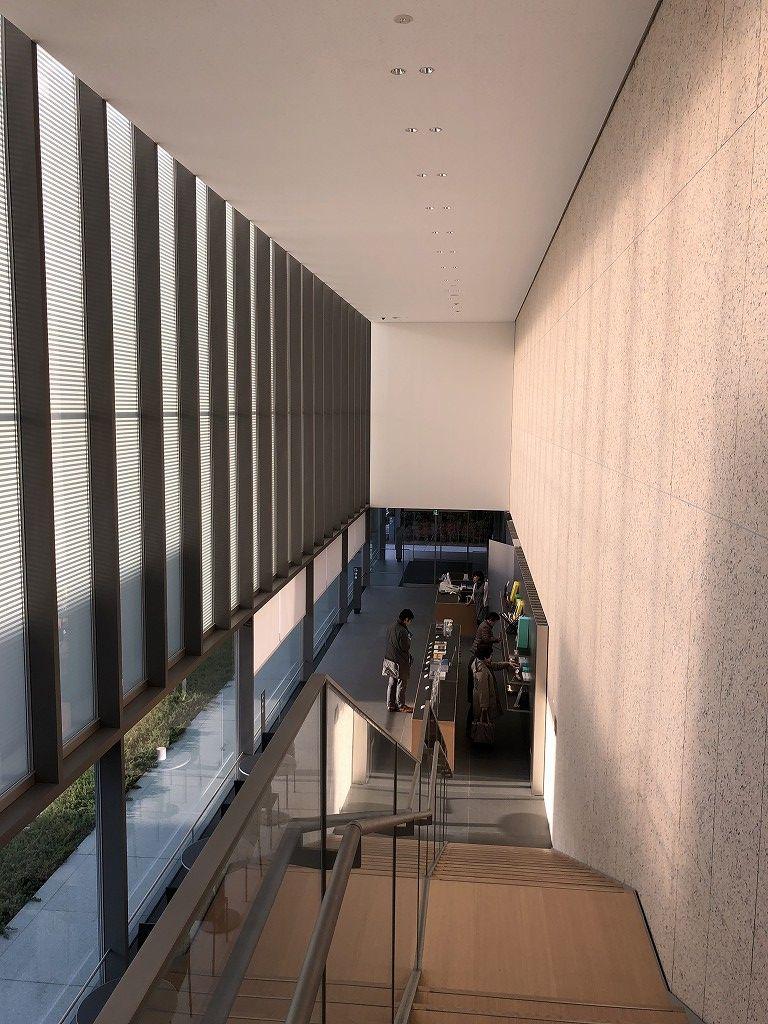 谷口吉郎・吉生記念 金沢建築館の階段