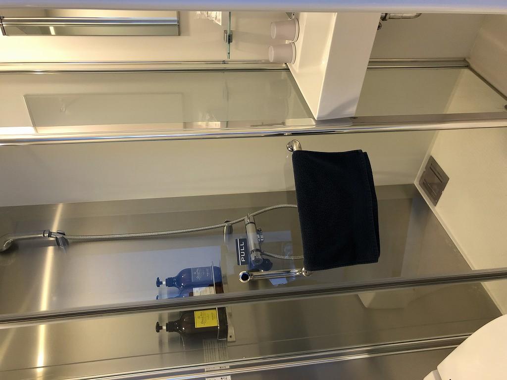 UNPLAN Kagurazakaの個室のシャワーブース