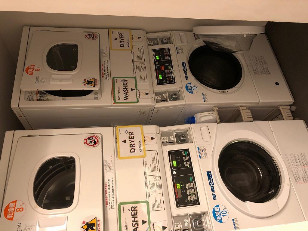 UNPLAN Kagurazakaの共用洗濯機