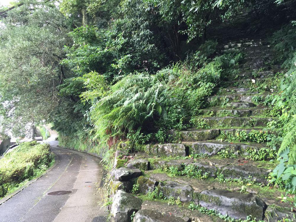 宇和島城の登城道