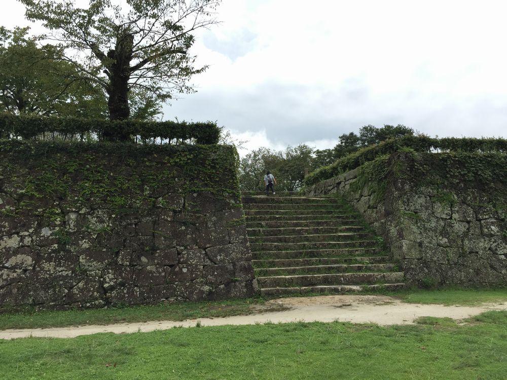 宇和島城の本丸の石垣