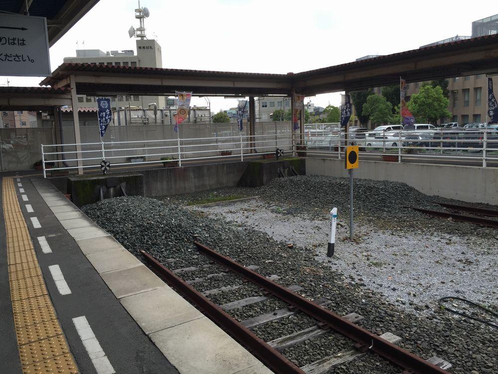 予讃線の終着駅2