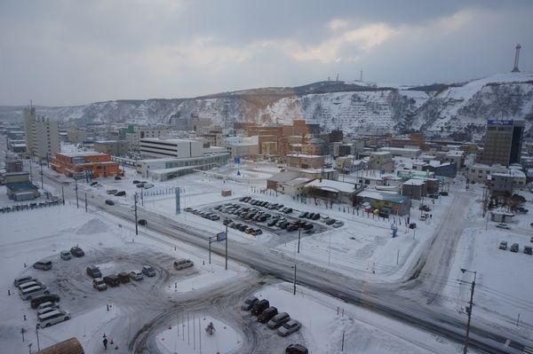 ANAクラウンプラザホテル稚内からの眺め画像