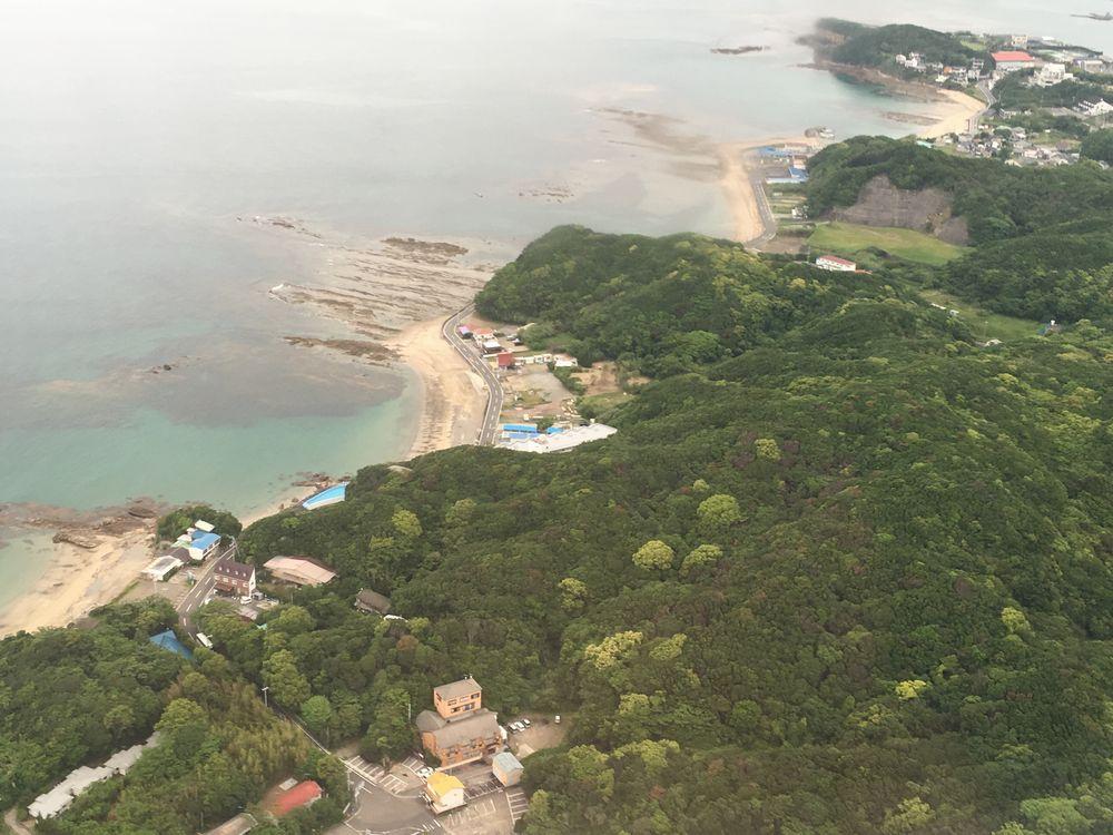 白浜上空の写真1
