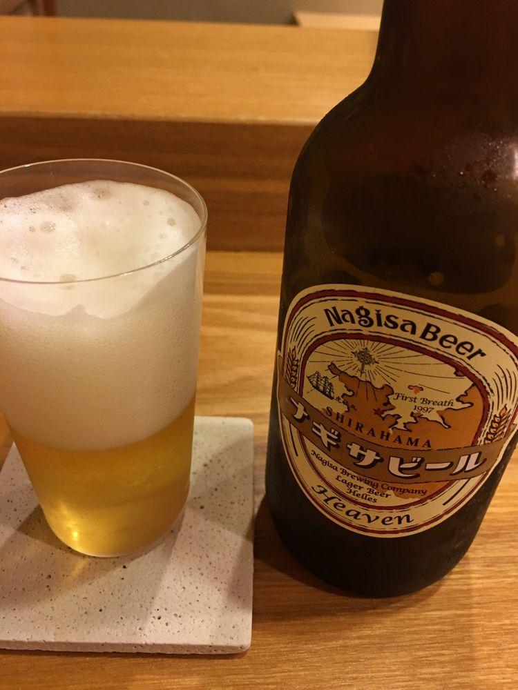 白浜のナギサビール