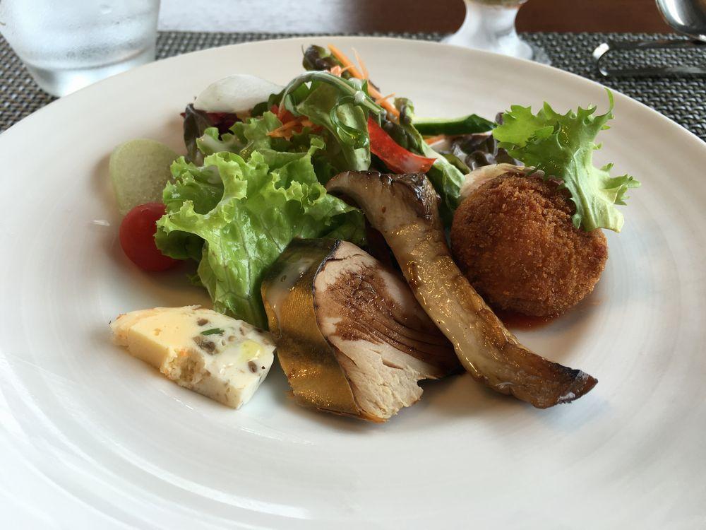 白浜のScarpetta(スカルペッタ)の前菜