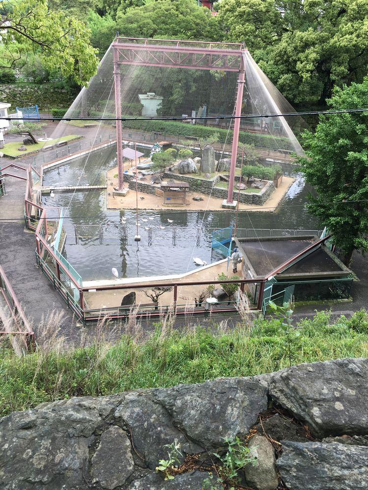 和歌山城の動物園