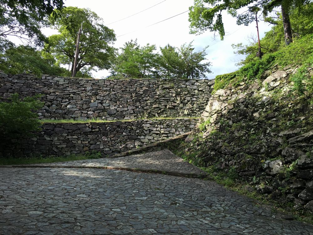 和歌山城の食い違い