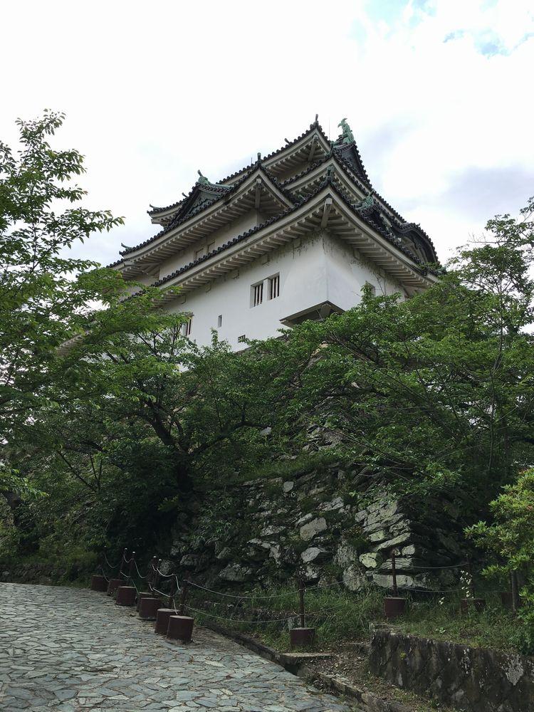 和歌山城の天守閣1