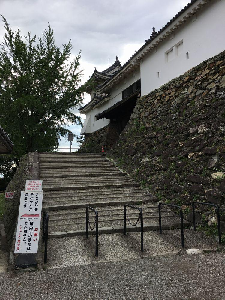 和歌山城の天守閣への入場料