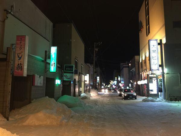 稚内オレンジ通り商店街画像