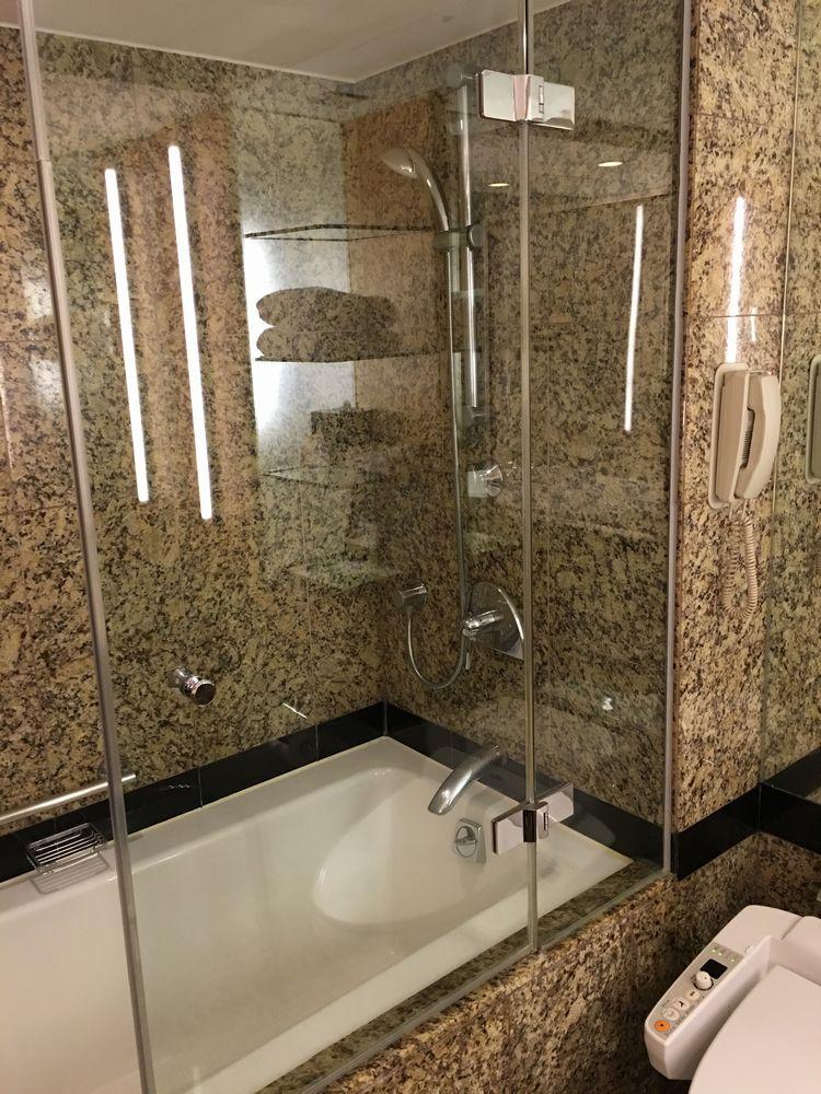 ウェスティン朝鮮ソウルのシャワールーム