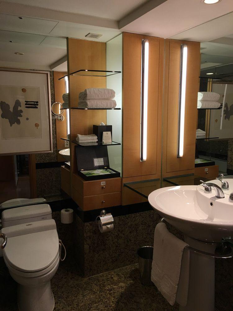 ウェスティン朝鮮ソウルのバスルーム