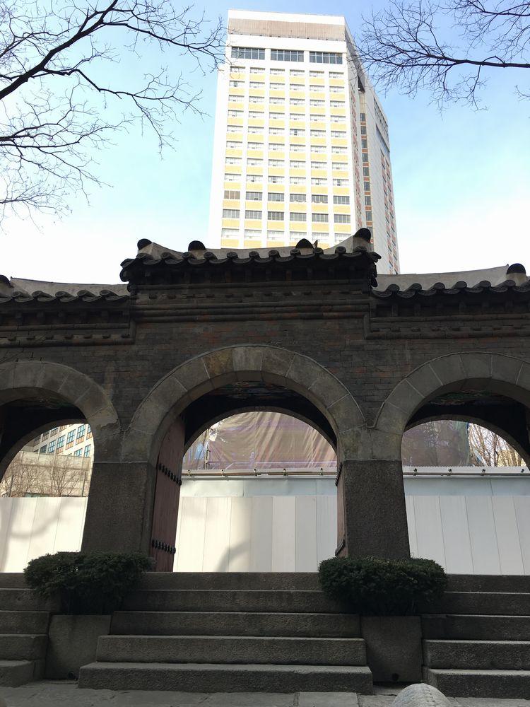 圜丘壇の石彫大門