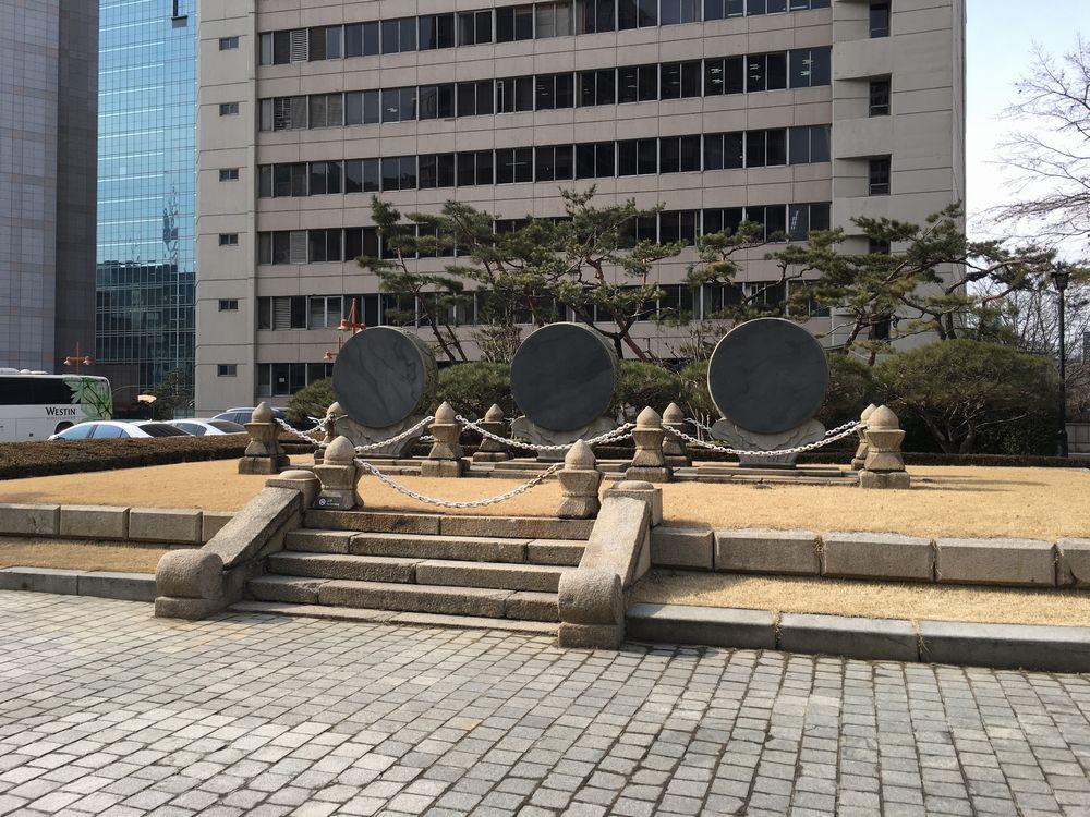 圜丘壇の石鼓