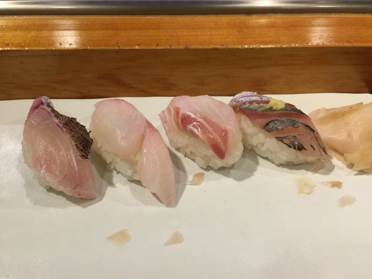 鶴岡の安兵衛寿しお寿司2