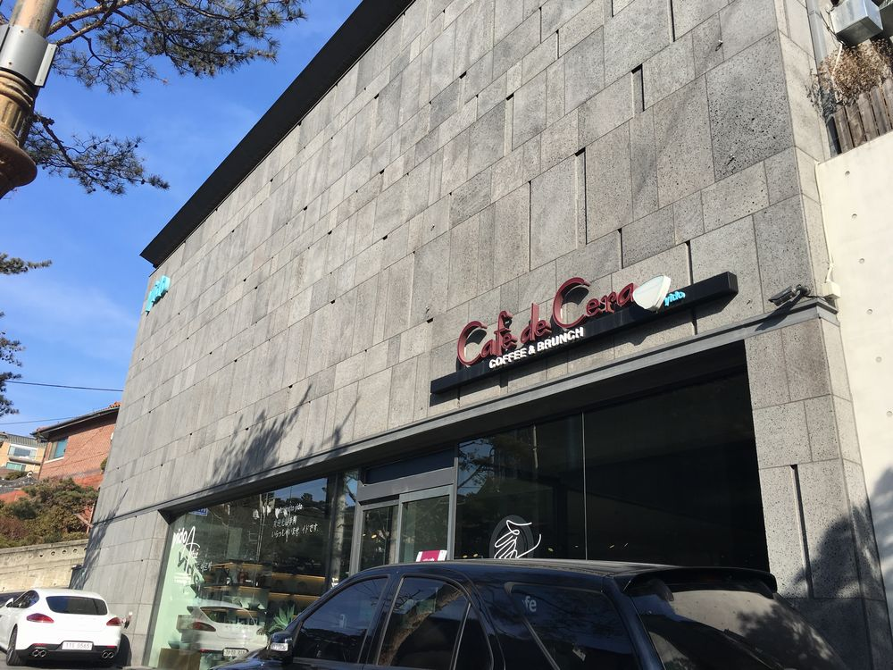 ソウルyido cafeの外観