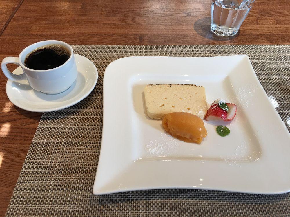 米子のル・プチ・トロケのデザート