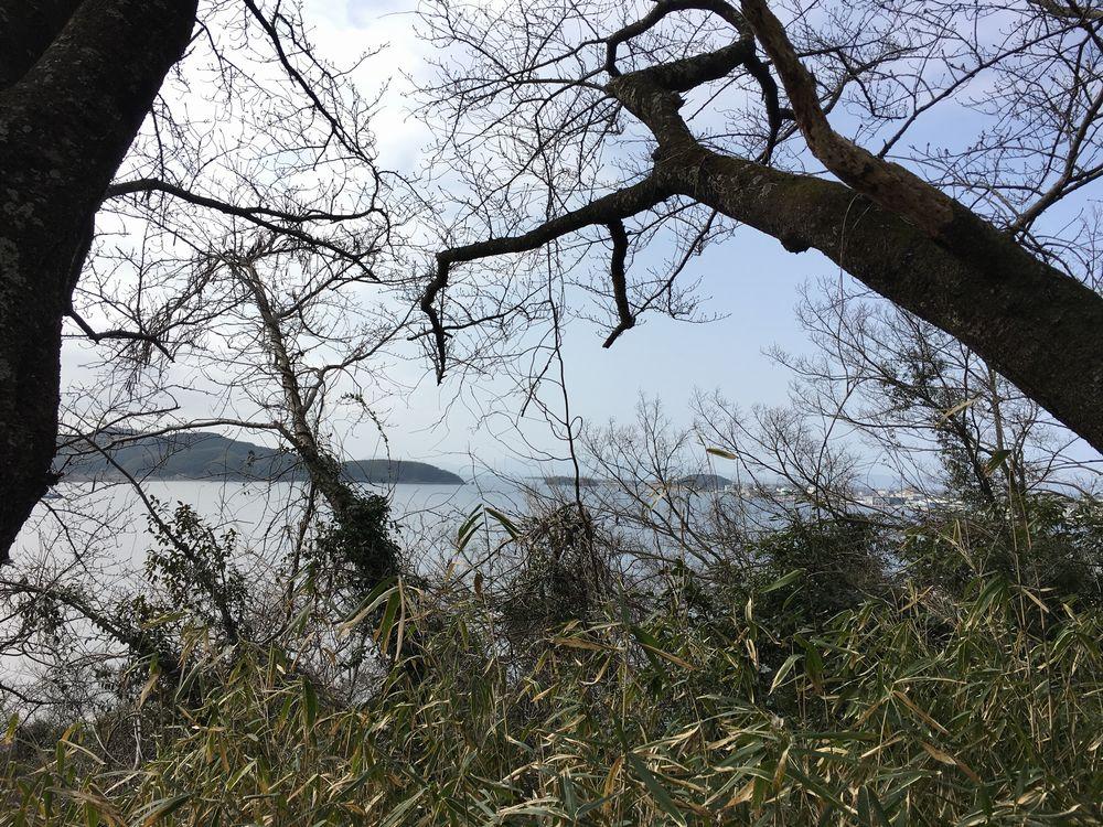 米子城の中海展望所2