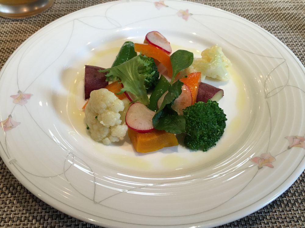 米子のル・プチ・トロケの小さな農園サラダ