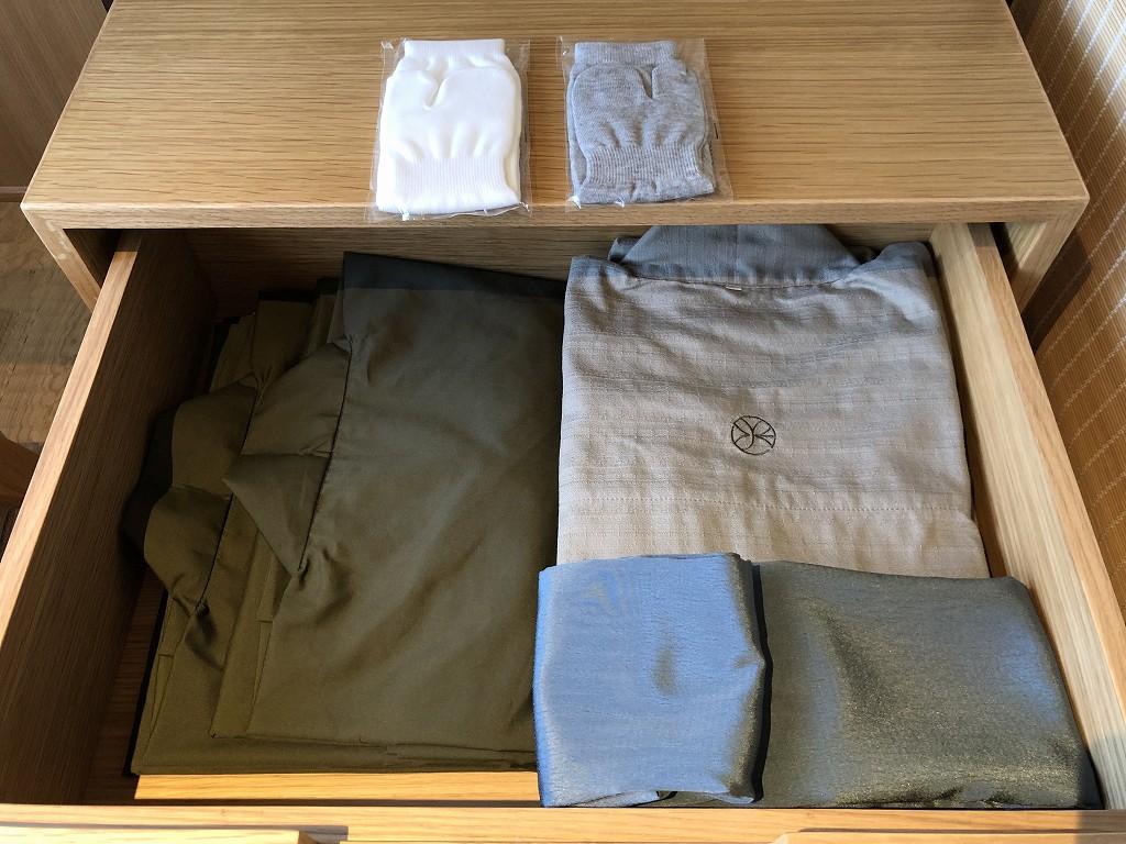 由縁別邸 代田のデラックスダブルルームの浴衣