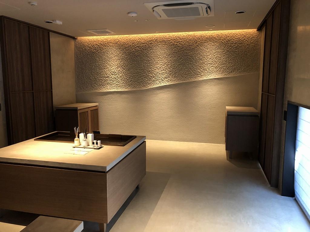 由縁別邸 代田の大浴場の待合室1