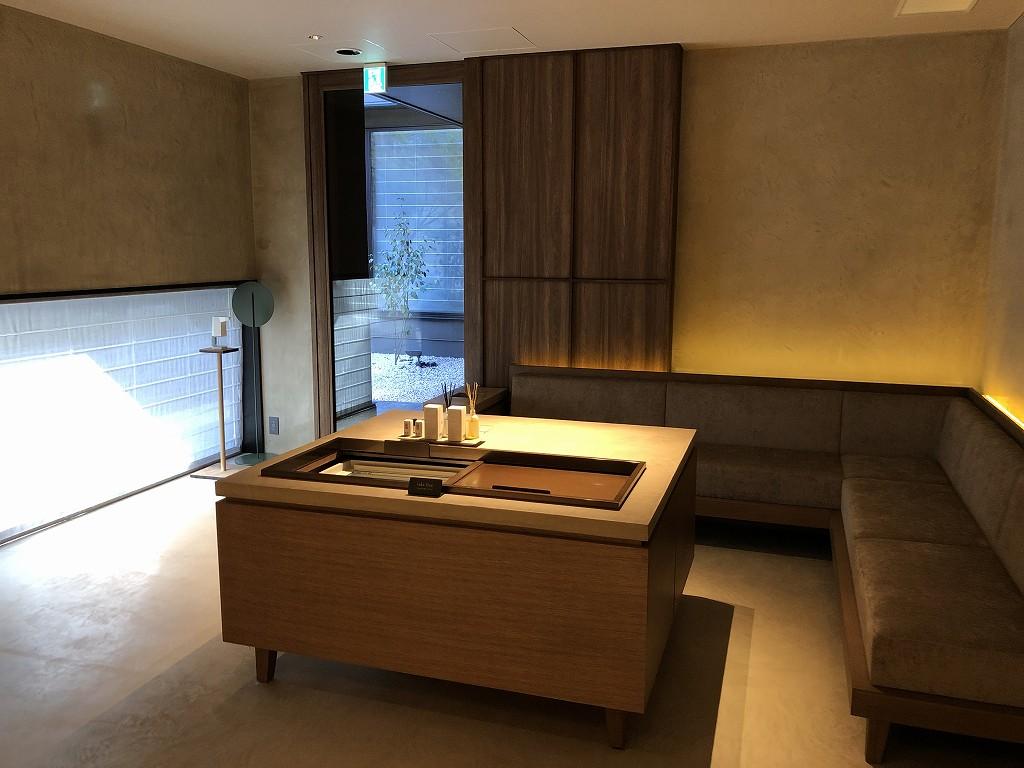 由縁別邸 代田の大浴場の待合室3