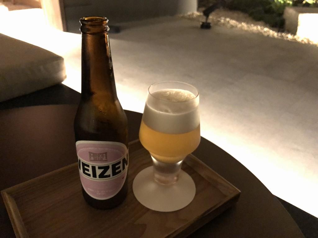 由縁別邸 代田の「茶寮 月かげ」でビール1
