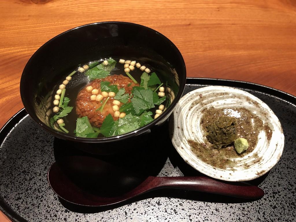 由縁別邸 代田の「茶寮 月かげ」で締め茶漬け